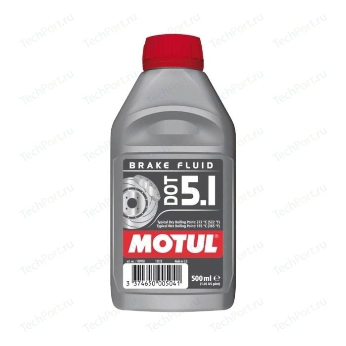 Тормозная жидкость MOTUL DOT 5.1 Brake Fluid 0,5 л