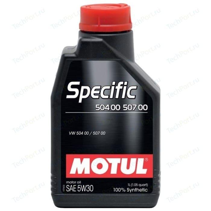 Моторное масло MOTUL Specific 504 00 / 507 5W-30 1 л