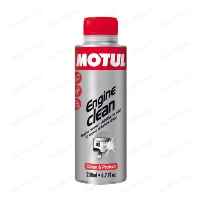 Промывка MOTUL Engine Clean Moto 0.2 л