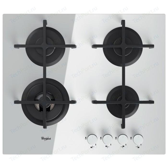 Газовая варочная панель Whirlpool GOA 6423 WH варочная панель whirlpool goa 6423 wh независимая белый