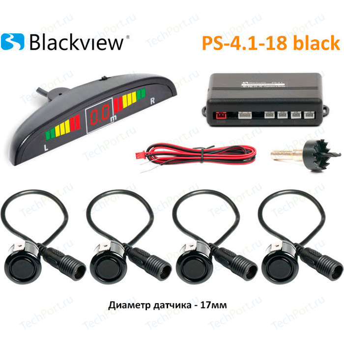 Парктроник Blackview PS-4.1-18 BLACK