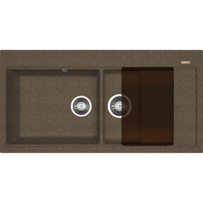 Кухонная мойка Florentina Россана коричневый Fg (20.335.E1000.105)