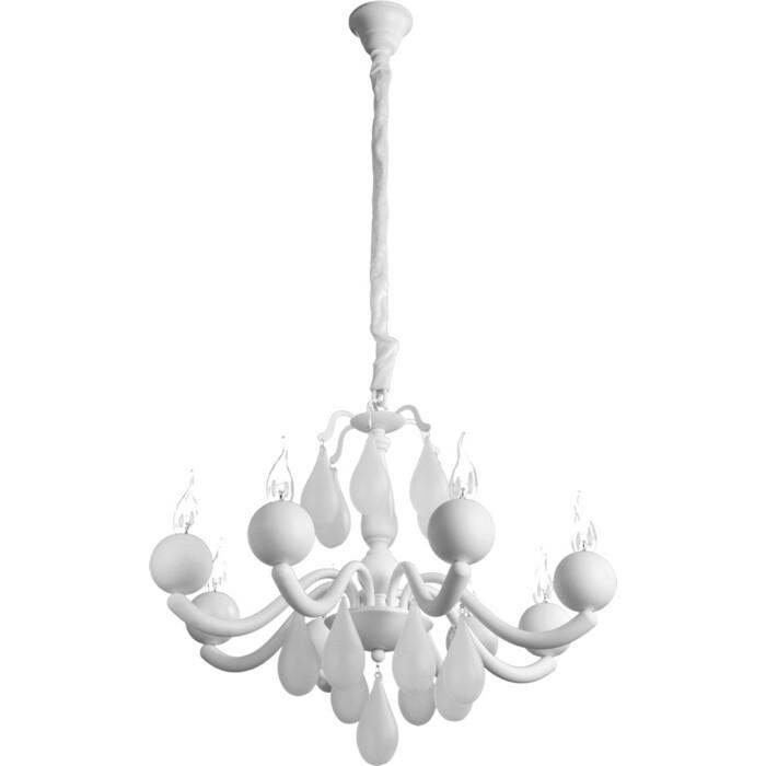 Подвесная люстра Arte Lamp A3229LM-8WH
