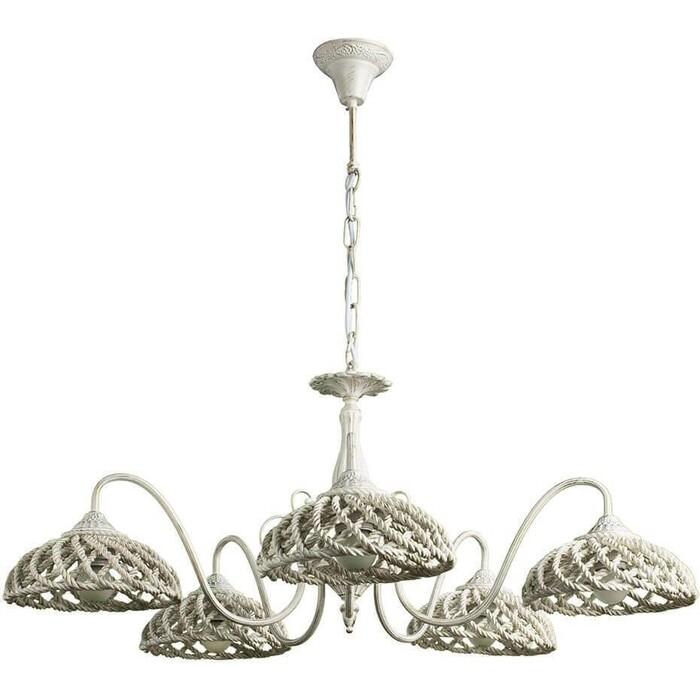 Подвесная люстра Arte Lamp A5358LM-5WG люстра подвесная на цепи arte lamp a6114lm 5wg