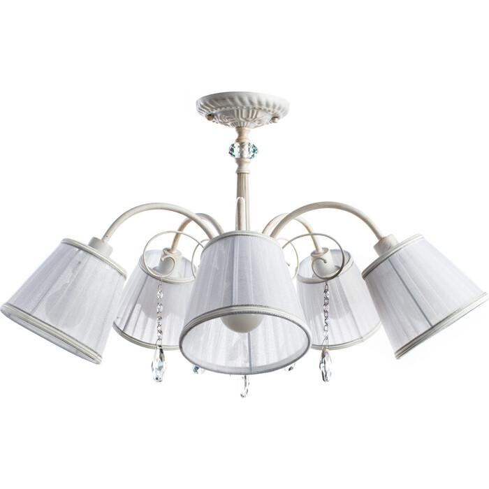 Потолочная люстра Arte Lamp A9515PL-5WG люстра подвесная на цепи arte lamp a6114lm 5wg