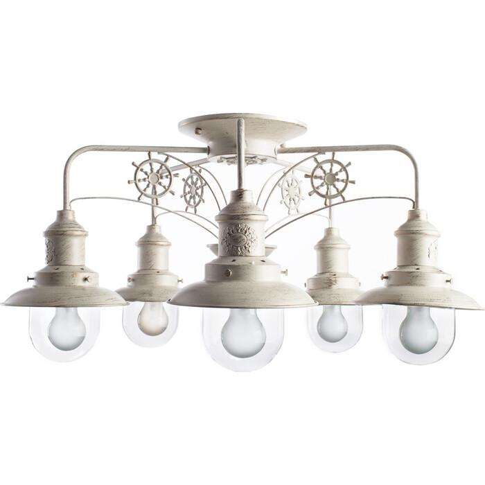 Потолочная люстра Arte Lamp A4524PL-5WG люстра подвесная на цепи arte lamp a6114lm 5wg
