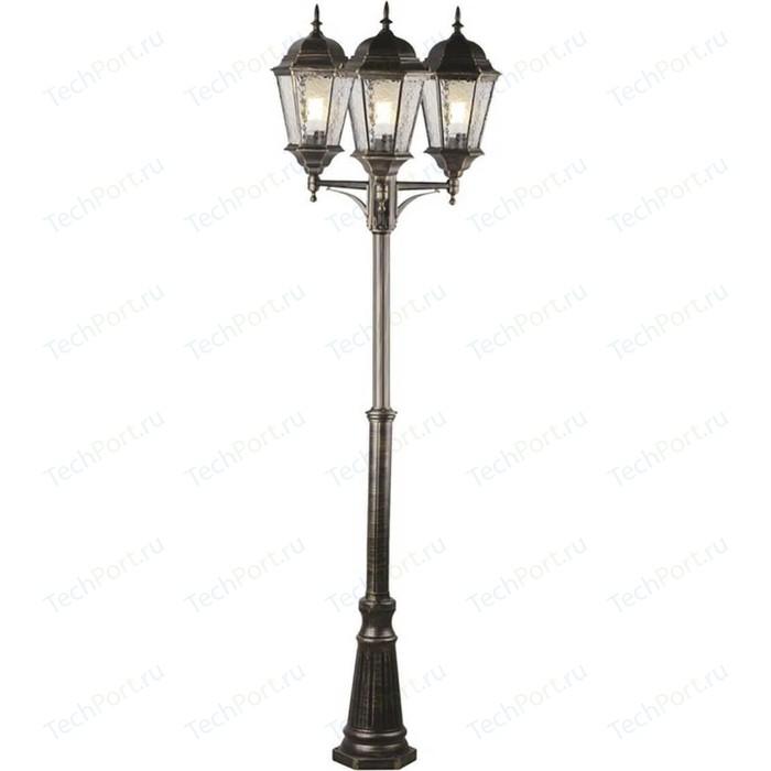 Уличный фонарь Arte Lamp A1207PA-3BN