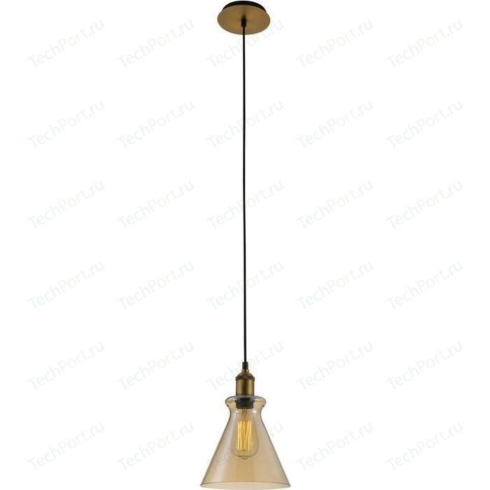 Подвесной светильник Crystal Lux Campanella SP1 Ambra