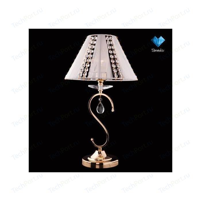 Настольная лампа Eurosvet 3419/1T золото/белый Strotskis