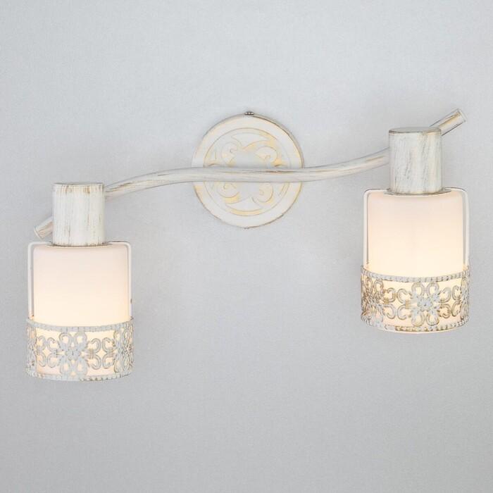 Спот Eurosvet 20025/2 белый с золотом настольная лампа eurosvet 01002 1 белый с золотом