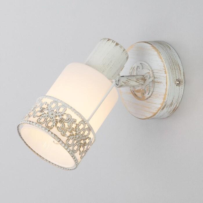 Спот Eurosvet 20025/1 белый с золотом настольная лампа eurosvet 01002 1 белый с золотом