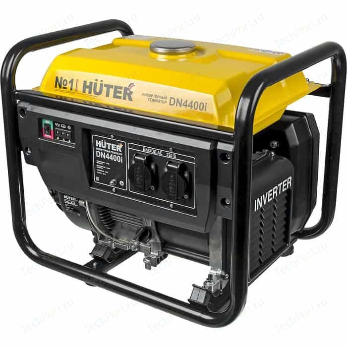 Генератор бензиновый инверторный Huter DN4400i генератор huter dy2500l