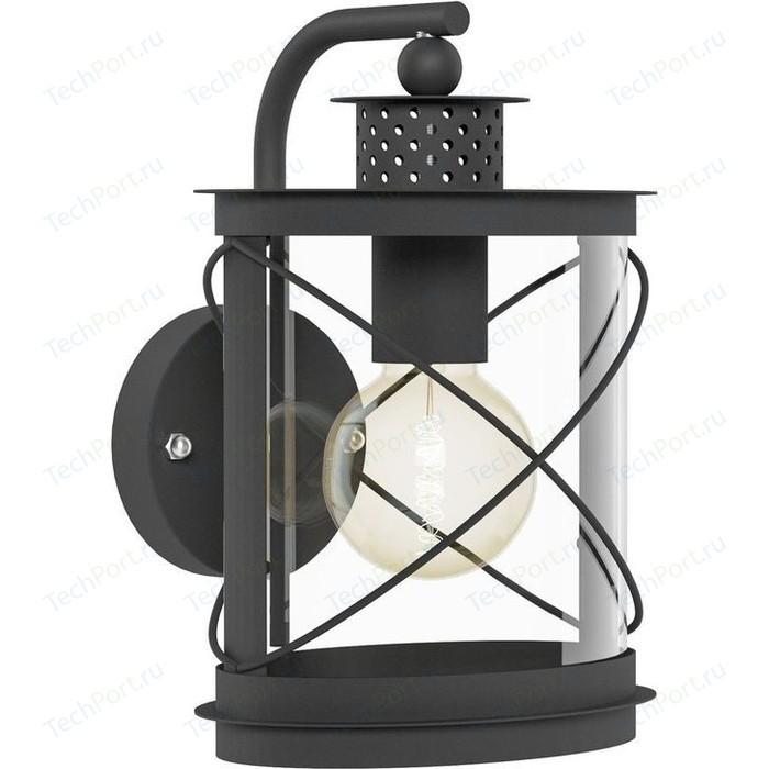 Уличный настенный светильник Eglo 94843 eglo светильник уличный hilburn 94843