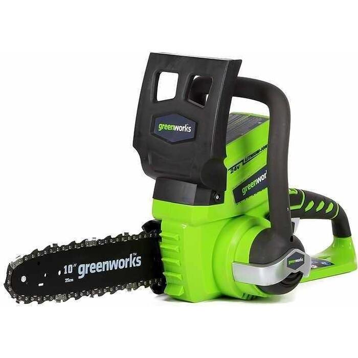 Электропила аккумуляторная GreenWorks G24CS25