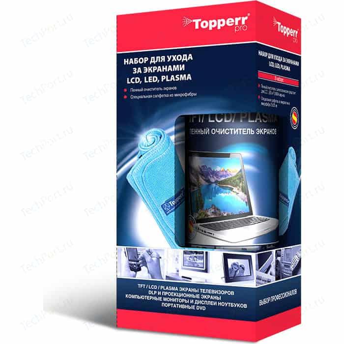 Набор для ухода за экранами Topperr 3024 TFT/ LCD/ LED