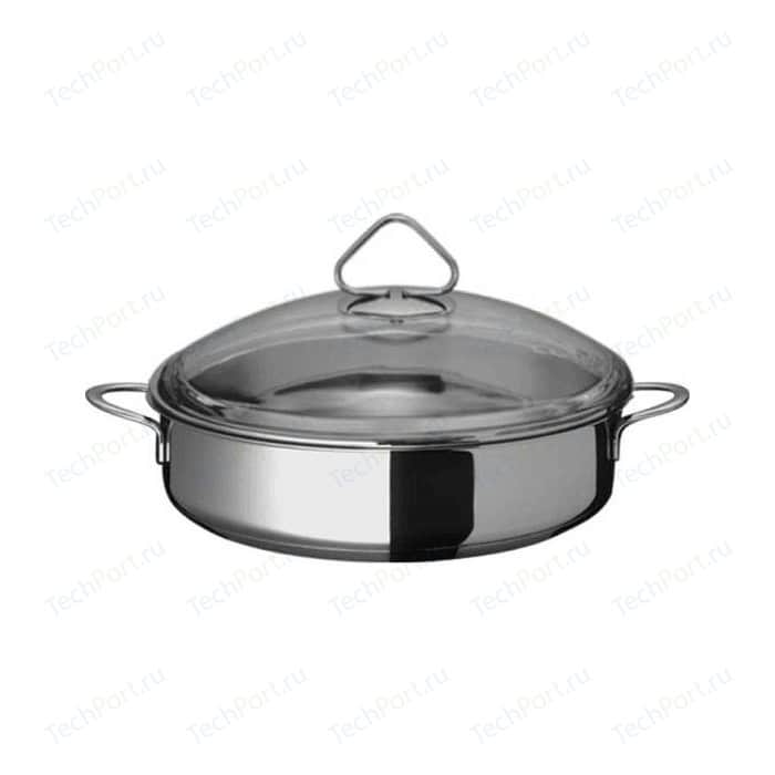Жаровня d 24 см ВСМПО-Посуда Гурман Стекло (220224)