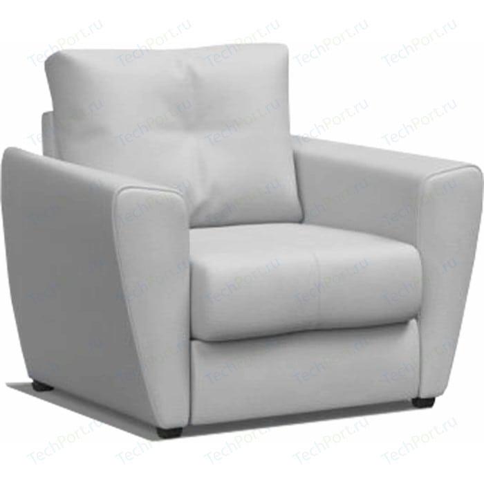 Кресло-кровать Mebel Ars Квартет - экокожа белая ППУ (110/90/80)