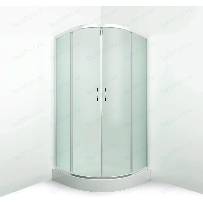 Душевой уголок Erlit Comfort 90x90 профиль хром, стекло матовое (ER0509-C3)