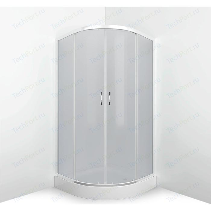 Душевой уголок Erlit Comfort 90x90 профиль хром, стекло тонированное (ER0509-C4)