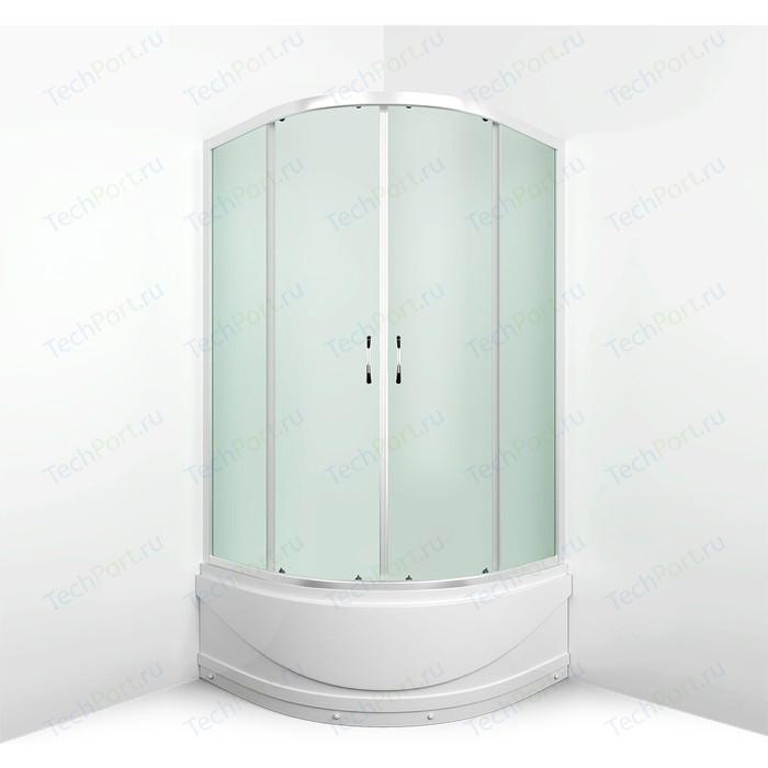 Душевой уголок Erlit Comfort 90x90 профиль хром, стекло матовое (ER0509T-C3)