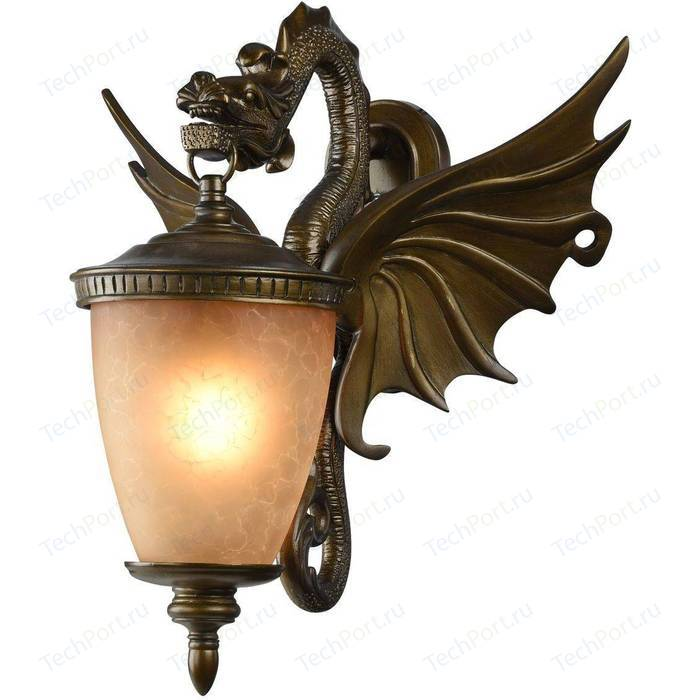 Уличный настенный светильник Favourite 1717-1W
