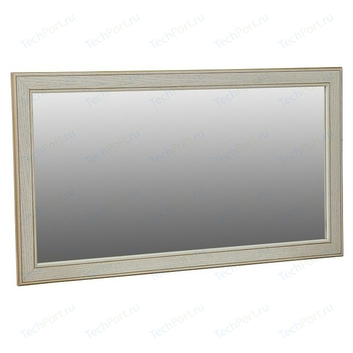 Зеркало Мебелик Васко В 61Н белый ясень/золото