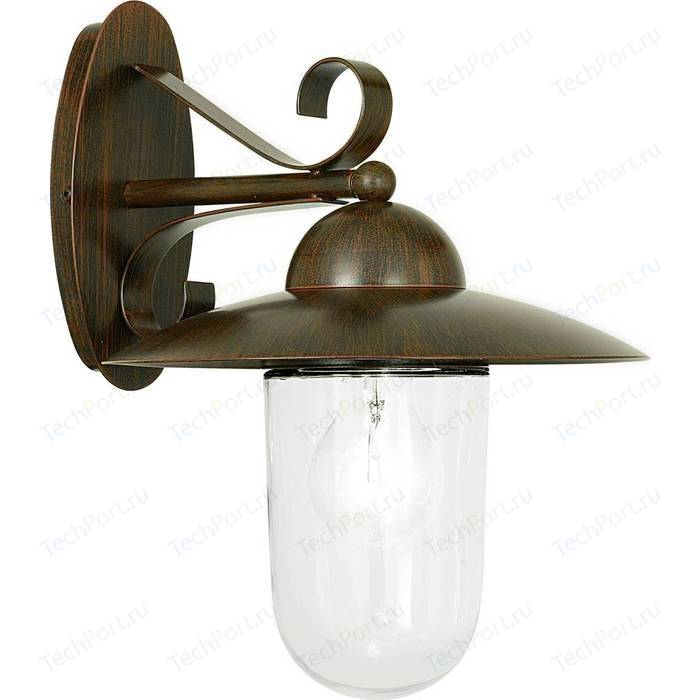 Уличный настенный светильник Eglo 83589