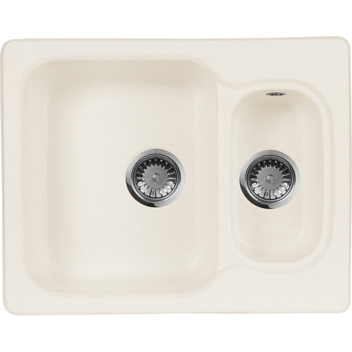 Кухонная мойка AquaGranitEx M-09 (331) белый