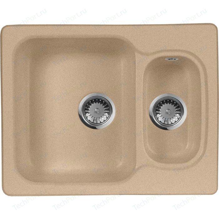 Кухонная мойка AquaGranitEx M-09 (302) песочный