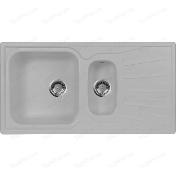 Кухонная мойка AquaGranitEx M-09K (310) серый