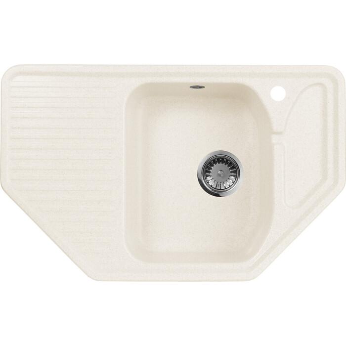 Кухонная мойка AquaGranitEx M-10 (331) белый