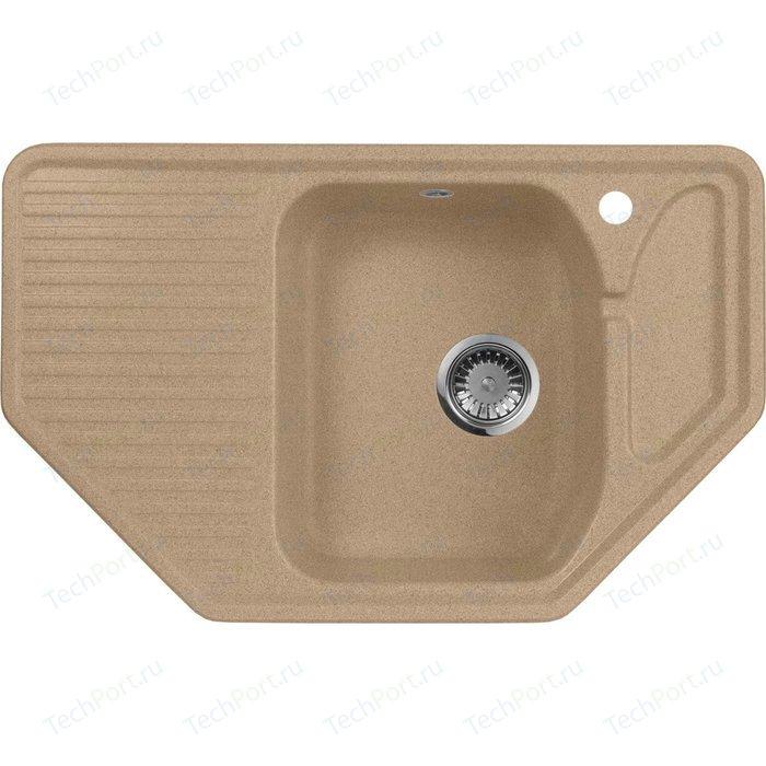 Кухонная мойка AquaGranitEx M-10 (302) песочный