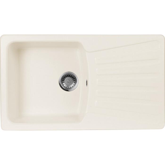 Кухонная мойка AquaGranitEx M-12 (331) белый