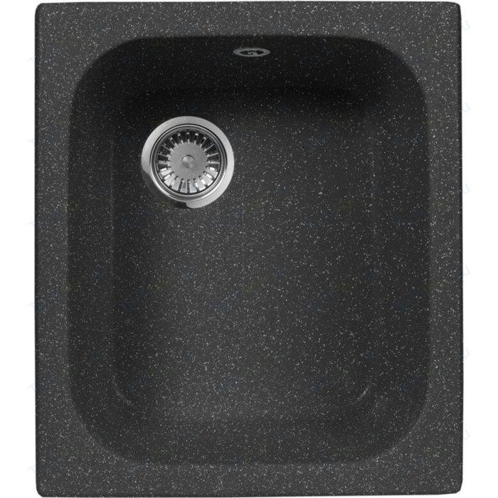 Кухонная мойка AquaGranitEx M-17 (308) черный