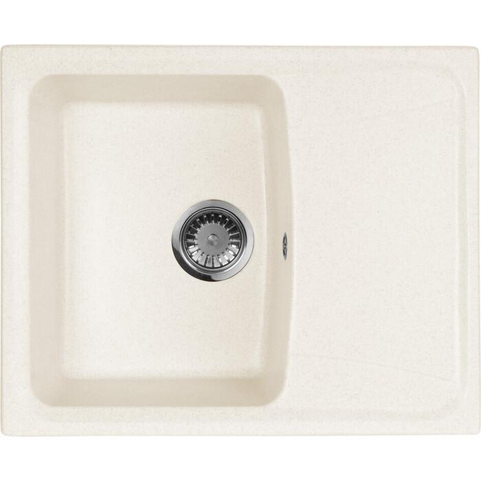 Кухонная мойка AquaGranitEx M-17K (331) белый
