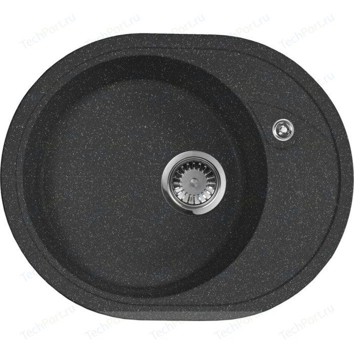 Кухонная мойка AquaGranitEx M-18L (308) черный