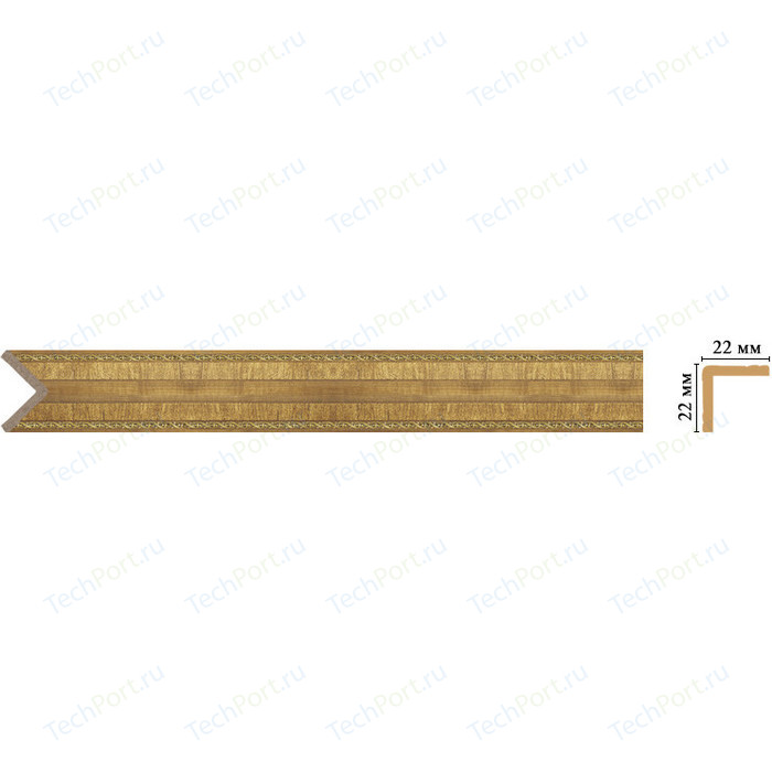 Угол Decomaster Классика цвет 4 22х22х2400 мм (116M-4)