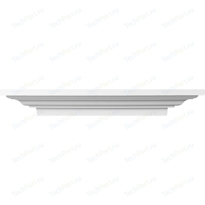 Полка Decomaster DECOMASTER-2 цвет белый 690х118х200 мм (68692) молдинг decomaster decomaster цвет белый 66х16х2000 мм a022