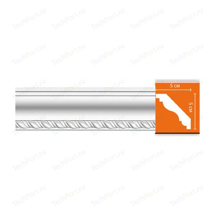 Профиль Decomaster DECOMASTER-2 цвет белый 50х50х2400 мм (95638) молдинг decomaster decomaster цвет белый 66х16х2000 мм a022