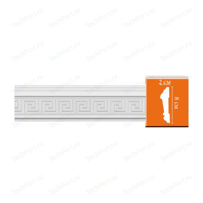 Молдинг Decomaster DECOMASTER-2 цвет белый 20х80х2400 мм (98627) молдинг decomaster decomaster цвет белый 66х16х2000 мм a022