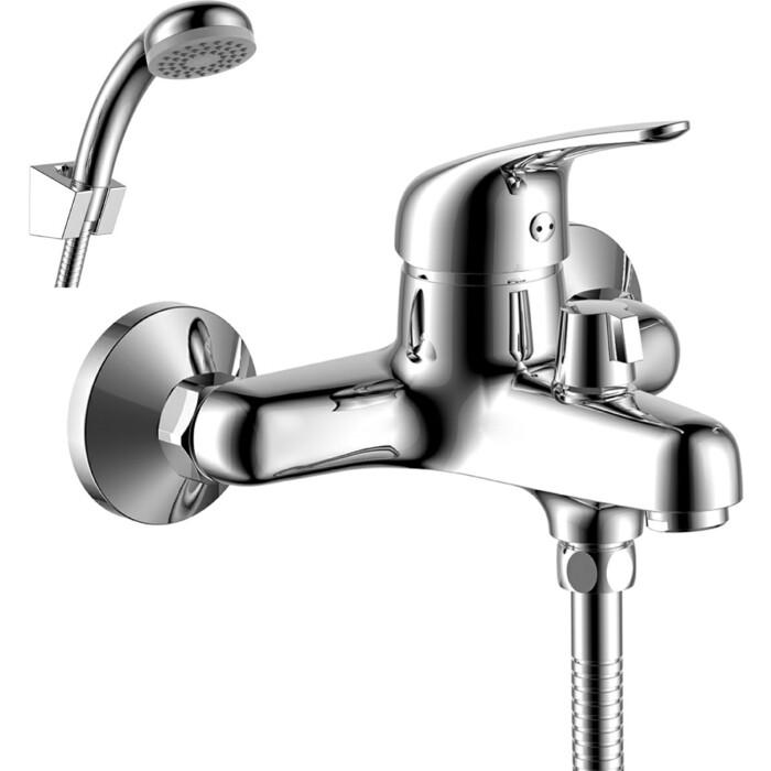 Смеситель для ванны Rossinka Silvermix с душем, хром (Y40-30)