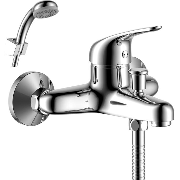 Смеситель для ванны Rossinka Silvermix с душем, хром (Y40-31)