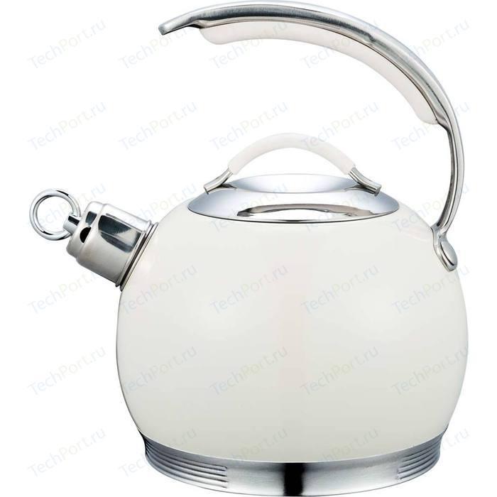Чайник со свистком 3 л Bekker De Luxe (BK-S518)