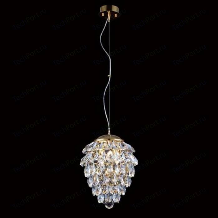 Подвесной светильник Crystal Lux Charme SP3+3 LED Gold/Transparent