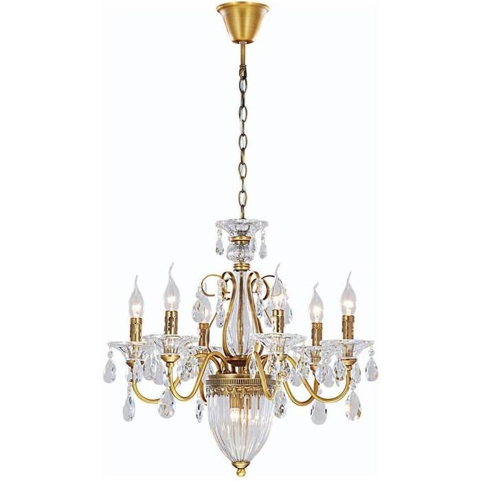 люстра apl22338791 6 chrome люстра arte perfetto luce Подвесная люстра Arte Lamp A4410LM-6-2SR
