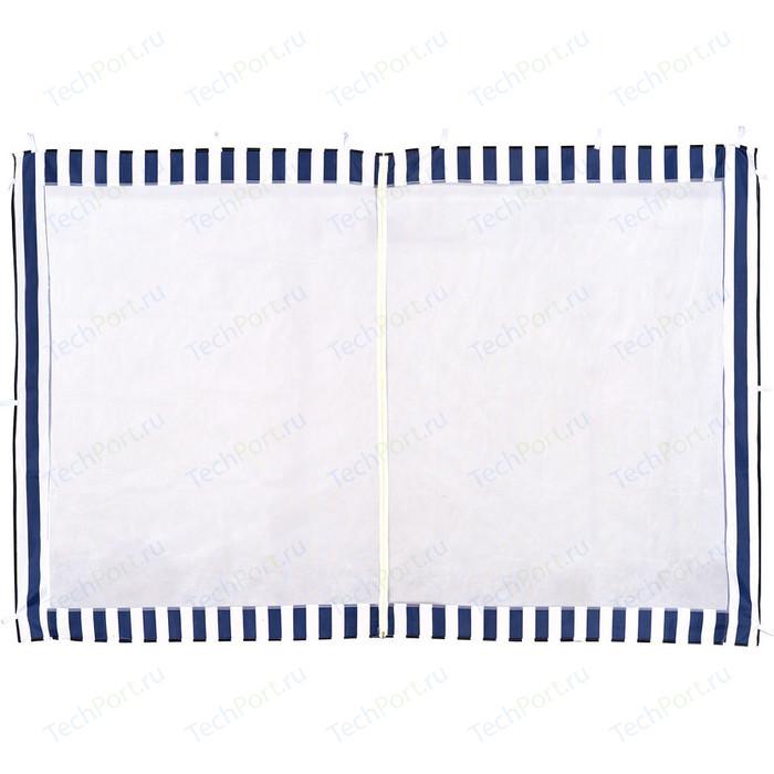 Стенка к шатру Green Glade с москитной сеткой (синяя) 1.95х2.95 4140 гамак greenhouse 20wf с москитной сеткой