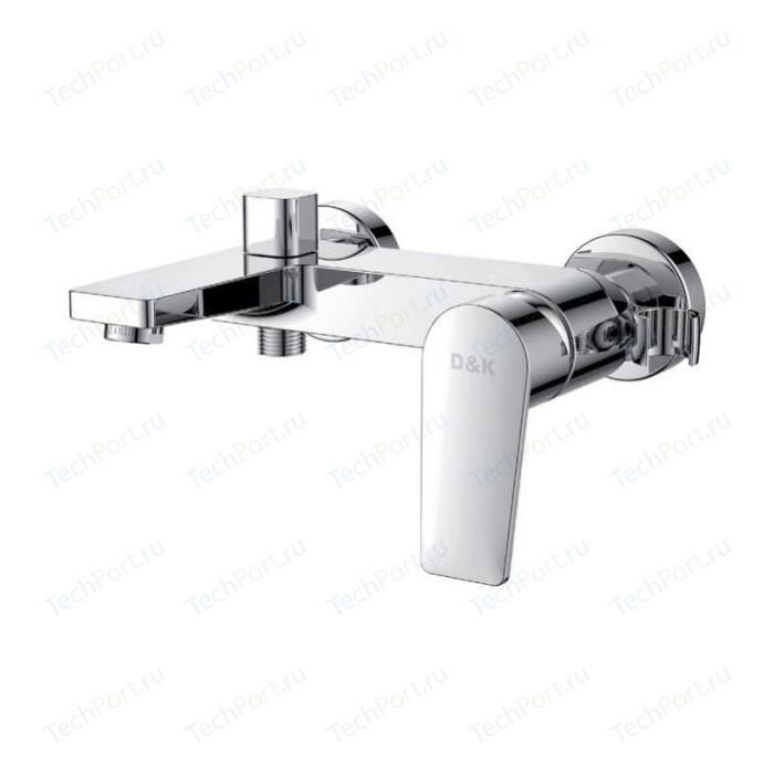 Фото - Смеситель для ванны D&K Rhein-Lessing с душем (DA1323201) rhein lessing da1313701a04