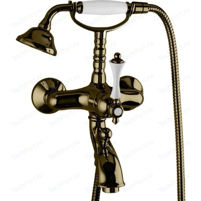 Смеситель для ванны Cezares Margot с ручным душем, Бронза (MARGOT-VDM-02-Bi)