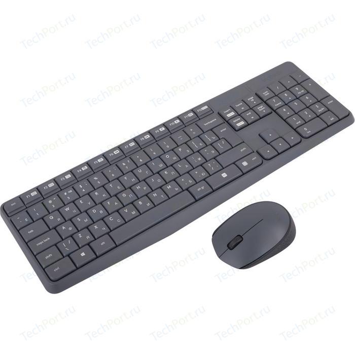 Комплект Logitech MK235 Grey (920-007948)