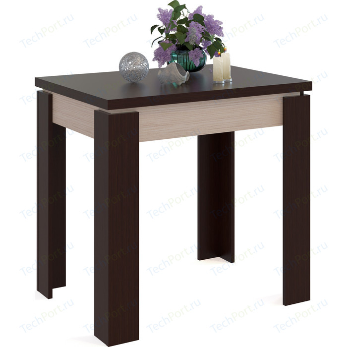 цена на Стол обеденный СОКОЛ СО-1 беленый дуб/венге